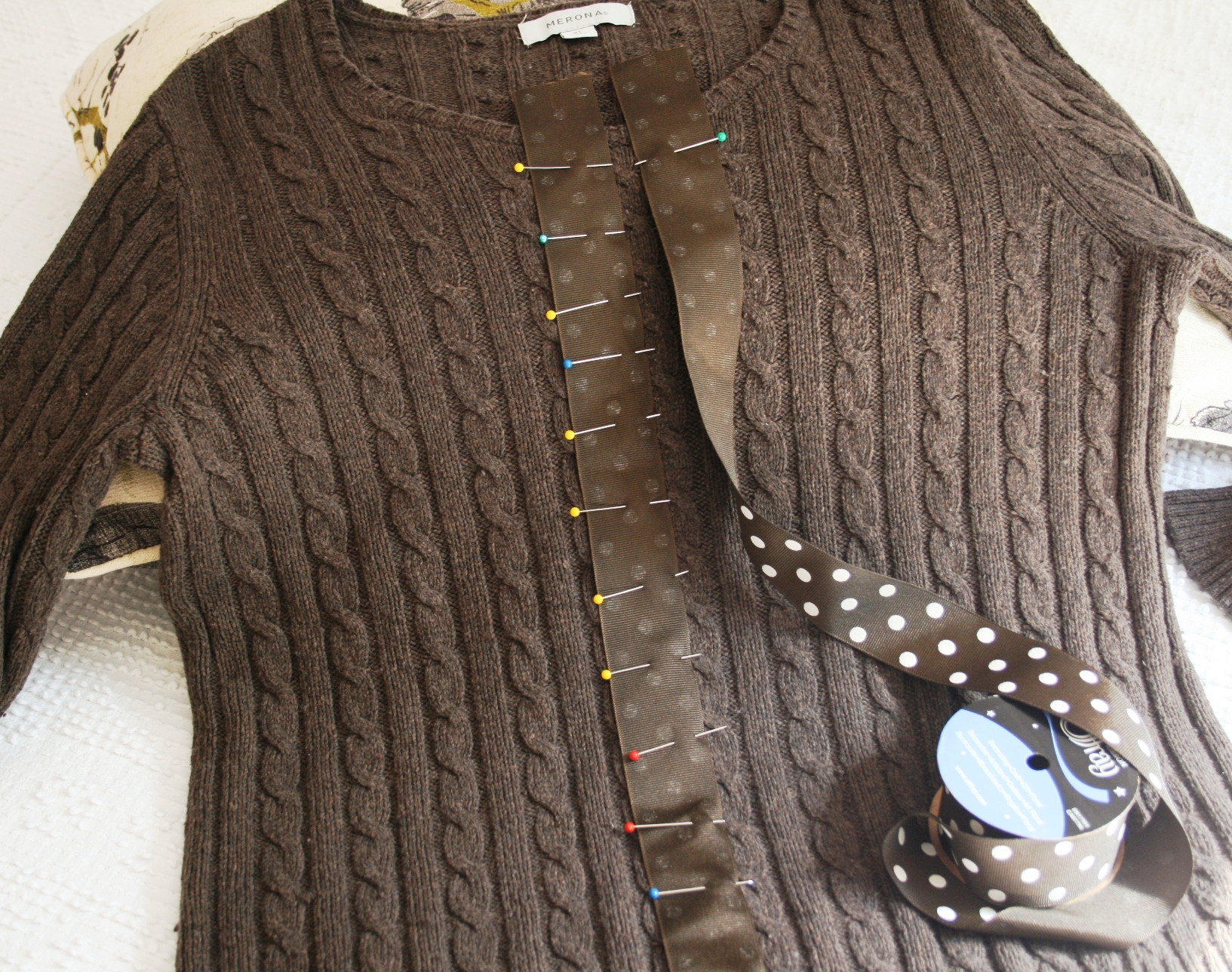 Sewing and Crafts : Old Sweater To New Cardigan | Chic Tweaks ...